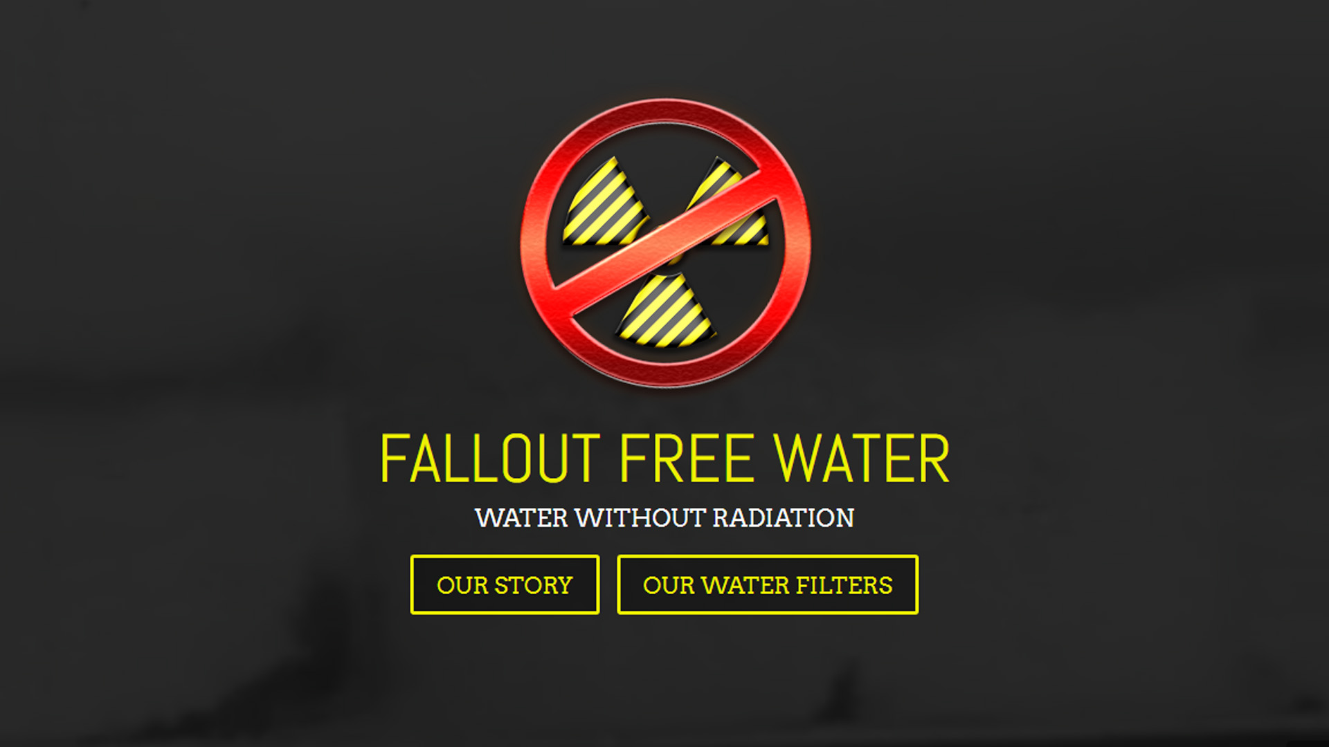 falloutfreewater.com by luke bullock screenshot
