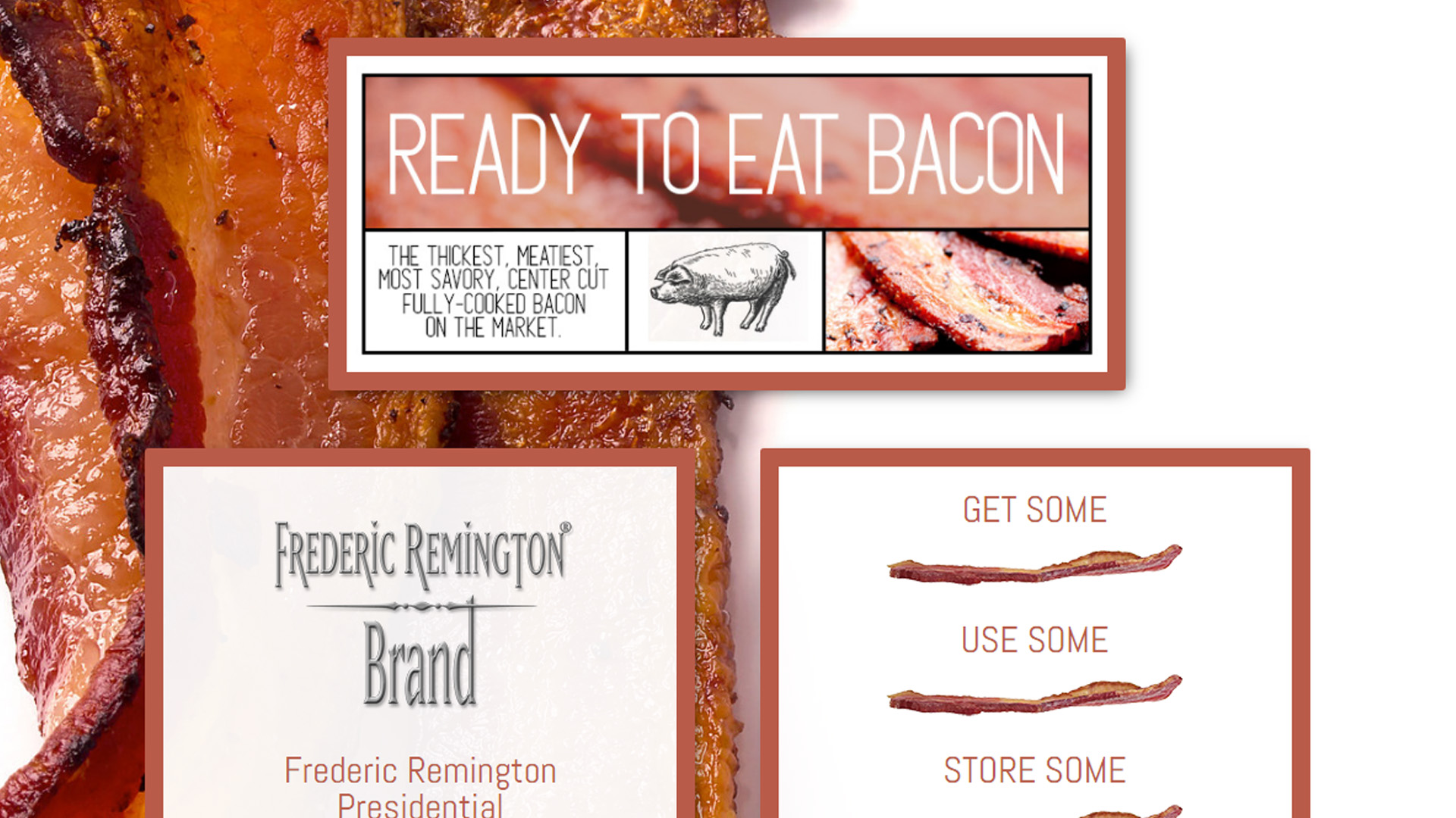 fredericremingtonbacon.com by luke bullock screenshot